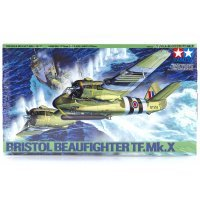 Tamiya 1/48 Bristol Beaufighter TF.Mk.X Scaled Plastic Model Kit