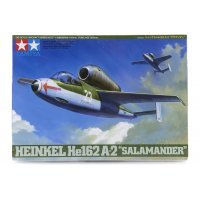 Tamiya 1/48 Heinkel He162 A-2 Salamander Fighter Scaled Plastic Model Kit