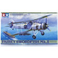 Tamiya 1/48 Fairey Swordfish Mk.II Fighter Scaled Plastic Model Kit