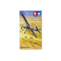 Tamiya 1/48 Fieseler Fi156C Storch Recon Aircraft Scaled Plastic Model Kit