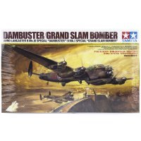 Tamiya 1/48 Avro Lancaster B Mk.I Special Dmbuster/Grand Slam Bomber Scaled Plastic Model Kit