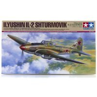 Tamiya 1/48 Ilyushin IL-2 Shturmovik Fighter Scaled Plastic Model Kit