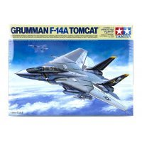 Tamiya 1/48 Grumman F-14A Tomcat Scaled Plastic Model Kit