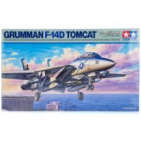 Tamiya 1/48 F-14A Tomcat Jet Scaled Plastic Model Kit