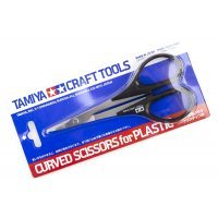 Tamiya Modeling Curved Scissors For Plastic Parts