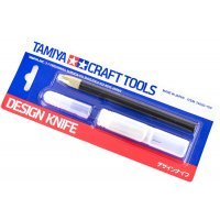 Tamiya Craft Design Knife w/ Spare Blades