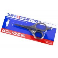 Tamiya Modeling Scissors For Decals Parts