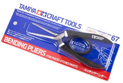 Tamiya Bending Pliers For Photo-Etched Parts Craft Tool