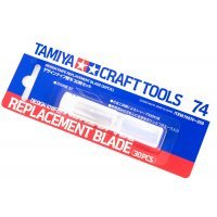 Tamiya Craft Design Knife Replacement Blades 30Pcs