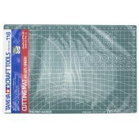 Tamiya Green Cutting Mat A4 Size