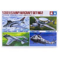 Tamiya 1/350 U.S. Navy Aircraft Set Scaled Plastic Model Kit