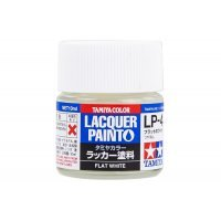 Tamiya LP-4 Flat White Lacquer Paint 10ml