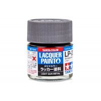 Tamiya LP-20 Light Gun Metal Lacquer Paint 10ml