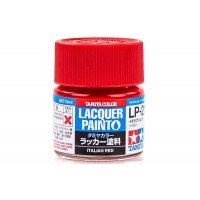 Tamiya LP-21 Italian Red Lacquer Paint 10ml