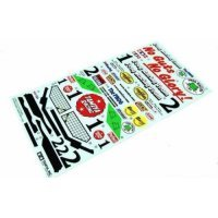 Tamiya Frog Sticker and Decal Sheet
