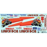 Tamiya Lunch Box Sticker and Decal Sheet