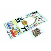 Tamiya Hotshot Sticker and Decal Sheet