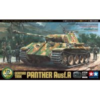 Tamiya 1/25 German Panther Ausf.A Scaled RC Tank Kit w/ Controller
