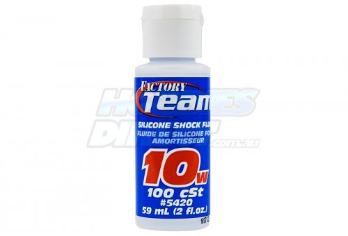 ASS5420 | Team Associated 10w (100 cSt) Silicone Shock Oil 59ml