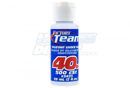 Team Associated 40w (500 cSt) Silicone Shock Oil 59ml