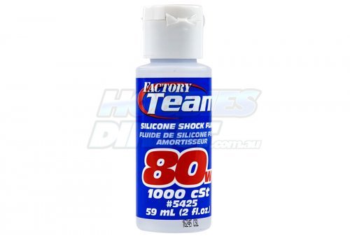 Team Associated 80w (1000 cSt) Silicone Shock Oil 59ml