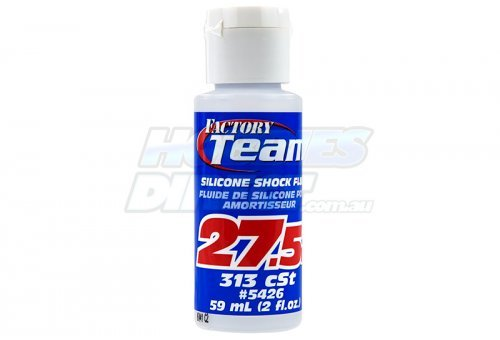 Team Associated 27.5w (313 cSt) Silicone Shock Oil 59ml