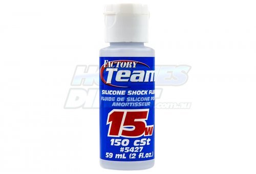 Team Associated 15w (150 cSt) Silicone Shock Oil 59ml