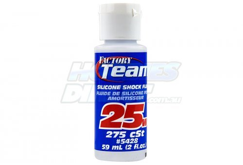 Team Associated 25w (275 cSt) Silicone Shock Oil 59ml