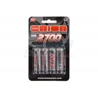 Team Orion 1.25v 2700mAH AA Rechargeable Batteries 4Pcs