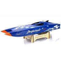 Thunder Tiger Desperado Electric Brushless RC Speed Boat - Blue