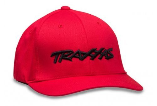 Traxxas Flexfit Large/Extra Large Red Cap