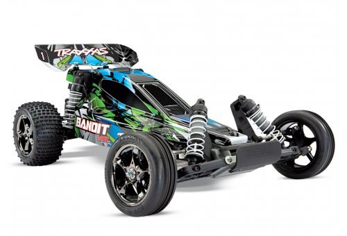 Traxxas 1/10 Bandit VXL 2WD Electric Brushless Off Road RC Buggy w/ ID & TSM (No Battery)