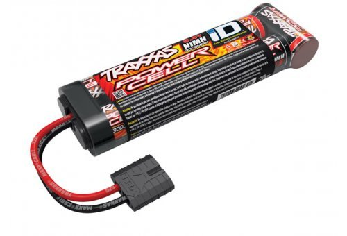 2923X | Traxxas Power Cell 8.4v 3000Mah NiMH iD Battery