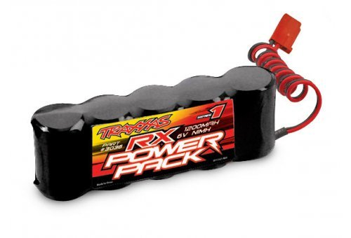 Traxxas 6v 1200mAh Series 1 Flat NiMh Battery