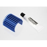 Traxxas Blue Aluminium 380 Motor Heat Sink w/ Thermal Paste
