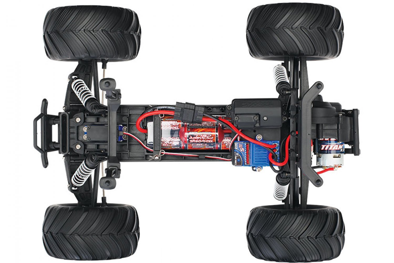 Traxxas 1/10 Bigfoot No. 1 2WD Electric Off Road RC Truck