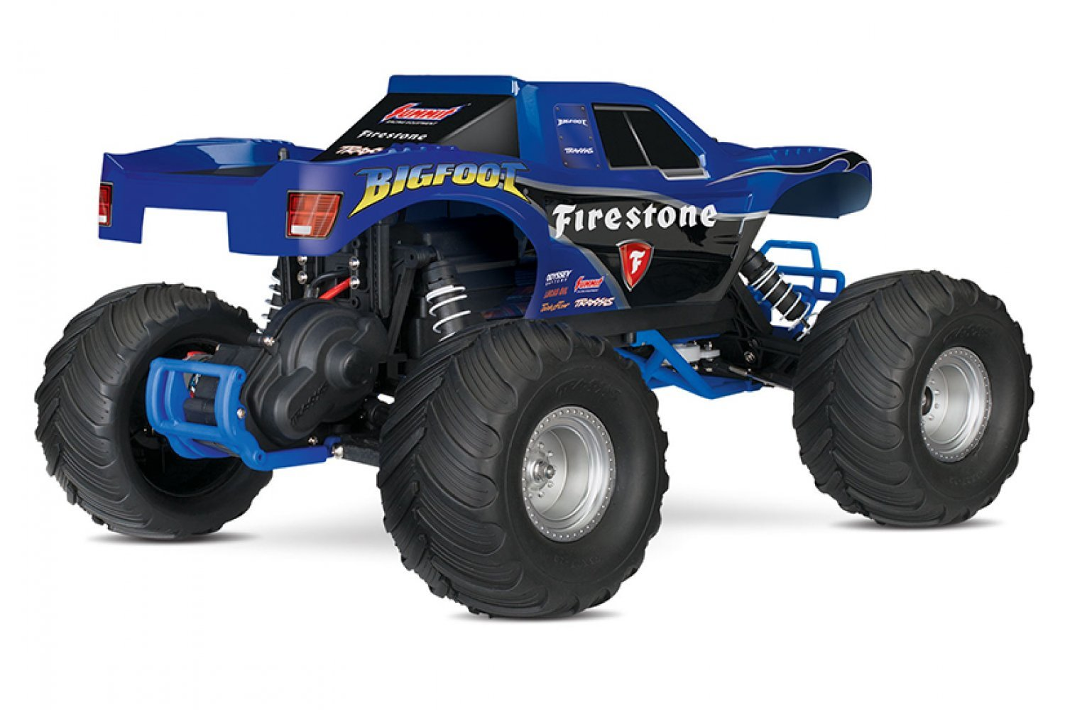Traxxas 1/10 Bigfoot 2WD Electric Off Road RC Truck