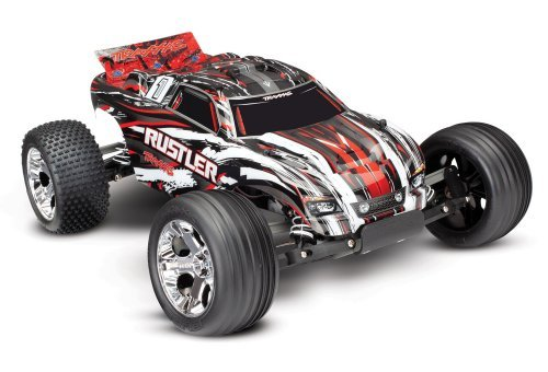 Traxxas 1/10 Rustler Electric Brushed RC Stadium Truck