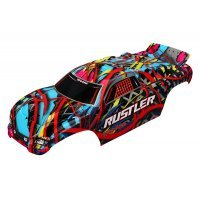 Traxxas Rustler Hawaiian Painted Body Shell