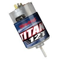 Traxxas Titan 550 Size 12 Turn Brushed Motor