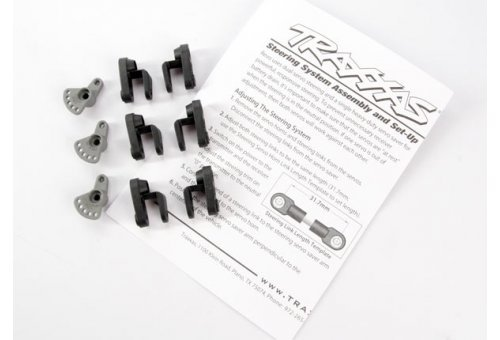 Traxxas Steering & Throttle Servo Horns (for non-Traxxas Servos)