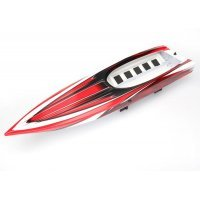 Traxxas Red Spartan Boat Complete Hull