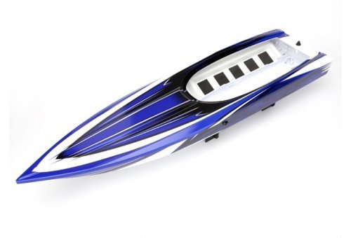 Traxxas Blue Spartan Boat Complete Hull
