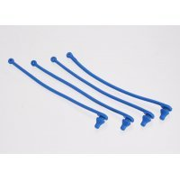 Traxxas Blue Silicone Body Pin Retainers 4Pcs