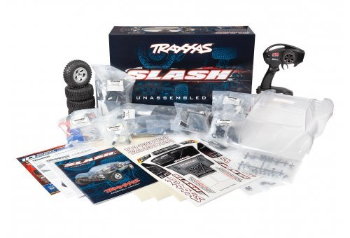 Traxxas 1/10 Slash Electric Off Road RC Short Course Truck Kit