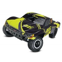Traxxas 1/10 Valentino Rossi Edition Slash Electric Off Road RC Short Course Truck