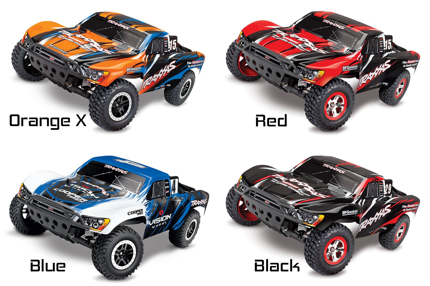 Traxxas 1/10 Slash Electric Off Road RC Short Course Truck