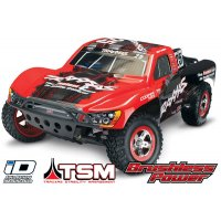 Traxxas 1/10 Slash VXL Brushless Off Road RC Short Course Truck w/ TSM (No Battery)