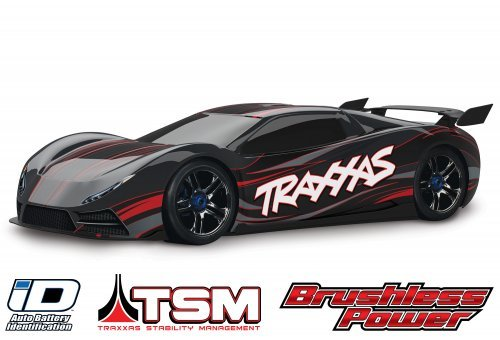 Traxxas 1/7 XO-1 Electric Brushless 4WD RC Supercar
