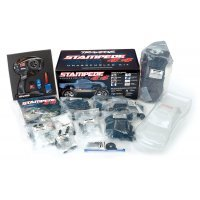 Traxxas 1/10 Stampede 4x4 Electric Off Road RC Truck Kit